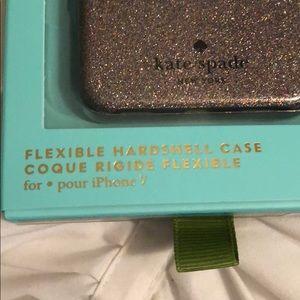kate spade Accessories - Kate spade glitter iPhone 7 case